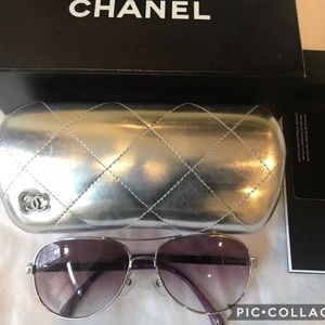 🌸🍃CHANEL 4179 C1243P Sunglasses